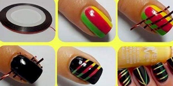 домашній манікюр дизайн нігтів