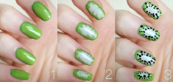 домашній манікюр на коротких нігтях