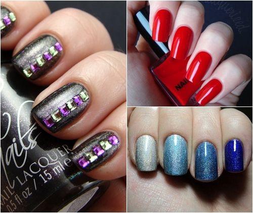 Модні кольори лаку для нігтів зима 2013