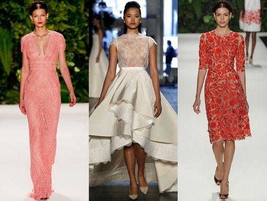 Модні сукні навесні 2014
