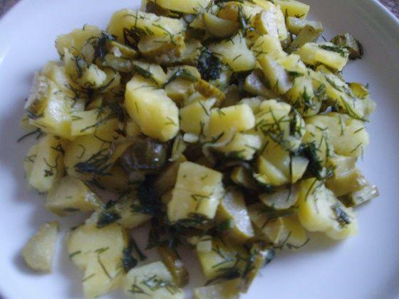 Традиційний смак: картопля + солоний огірок
