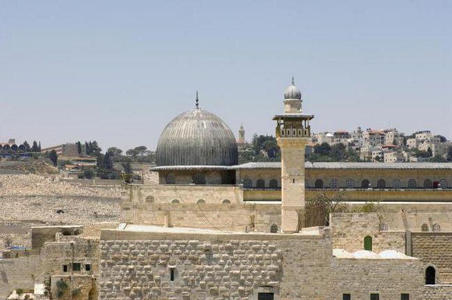 Дивна краса мечеті аль-акса