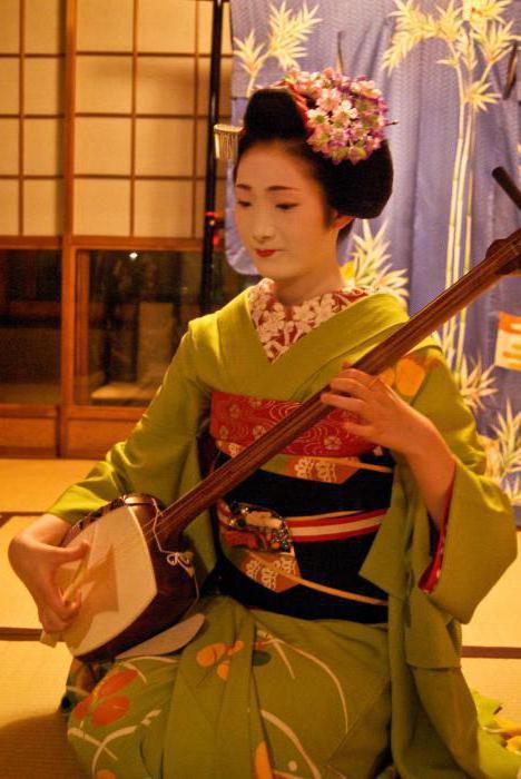 Японські музичні інструменти (фото)