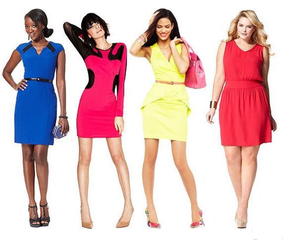 яскраві сукні