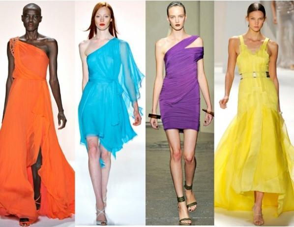 сукні яскравих кольорів
