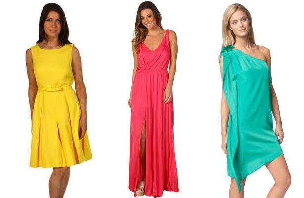 яскраві сукні 2013.