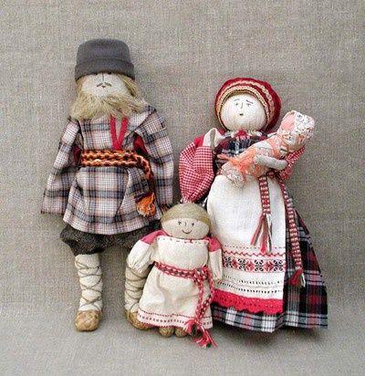 Як робити ганчіркові ляльки