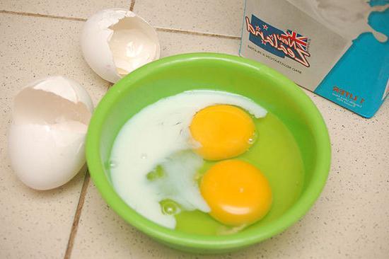 яєчня з молоком