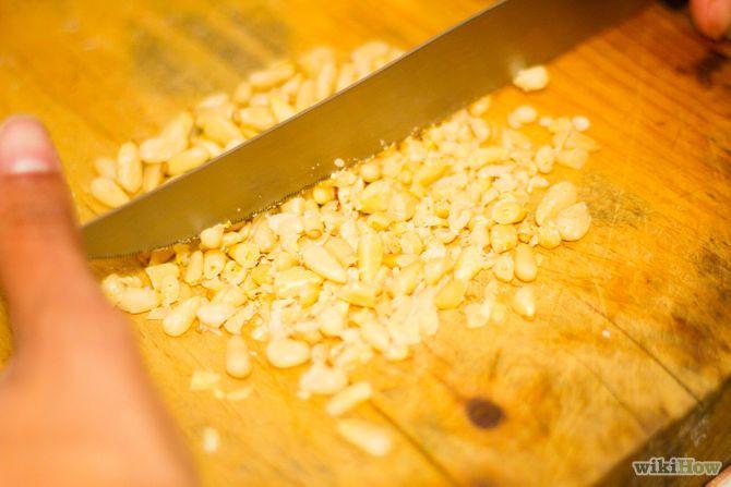Зображення з назвою Make Basil Pesto Pasta Step 1