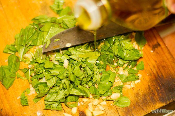 Зображення з назвою Make Basil Pesto Pasta Step 3