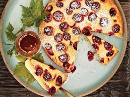 пиріг з виноградом