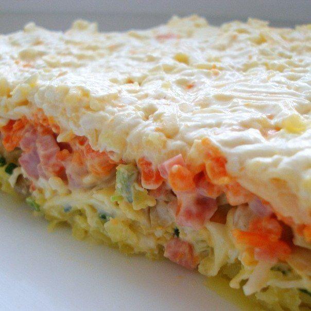 Як приготувати листковий салат з грибами