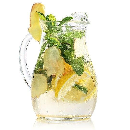 Як зробити імбирний лимонад