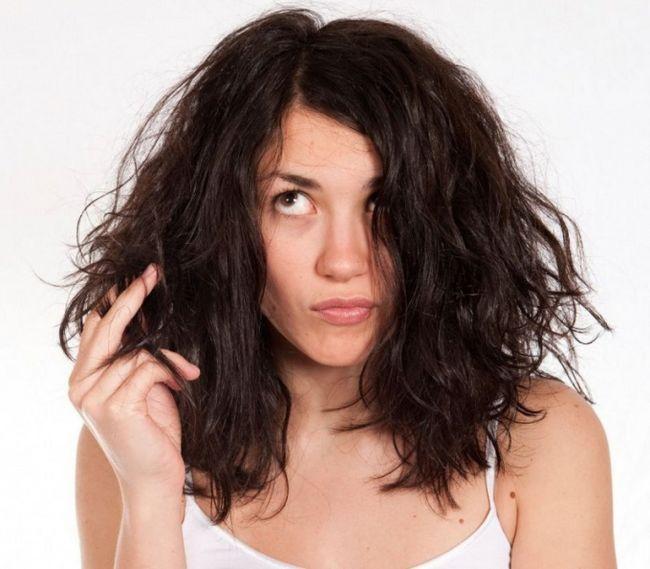 Як зробити маску для сухого волосся