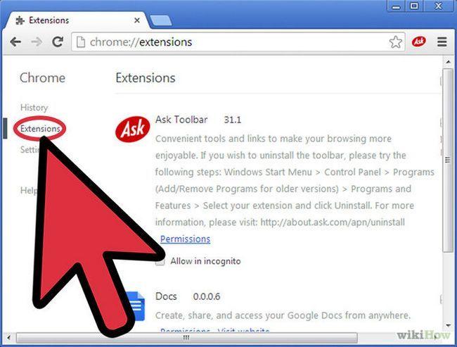 Зображення з назвою Remove Ask Toolbar from Chrome Step 2