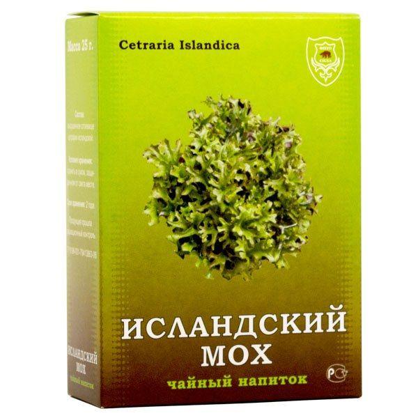 Які лікувальні властивості у ісландського моху