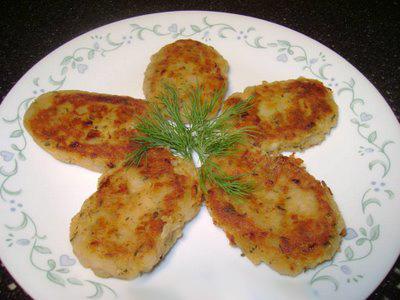 котлети з картоплі рецепт
