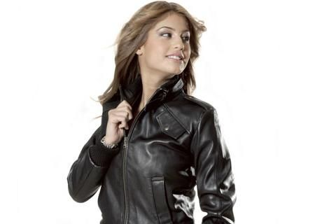 Шкіряні куртки для підлітків, дівчаток
