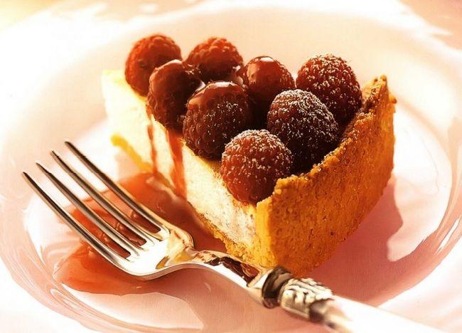 малиновий пиріг