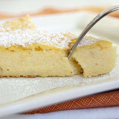 манно яблучний пиріг