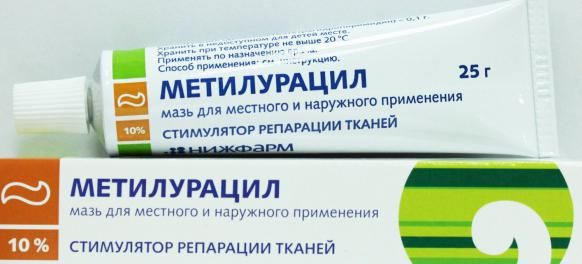 метілураціловая мазь інструкція із застосування
