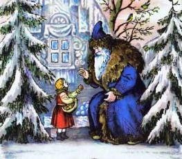 літературна казка мороз иванович