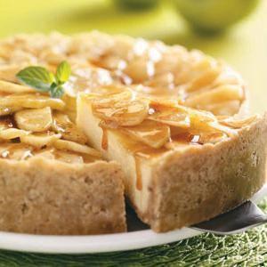 пиріг сир сметана яблука