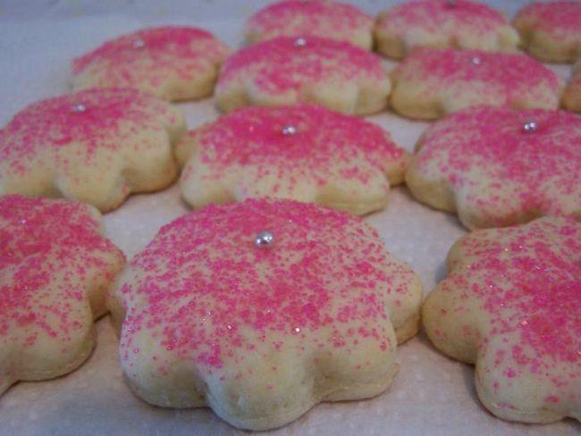 пісочне цукрове печиво рецепт