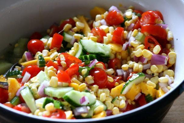 Рецепт смачного салату на день народження і дещо ще!