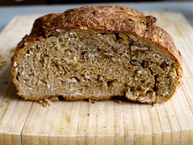 Житній хліб з висівками і насіннячками