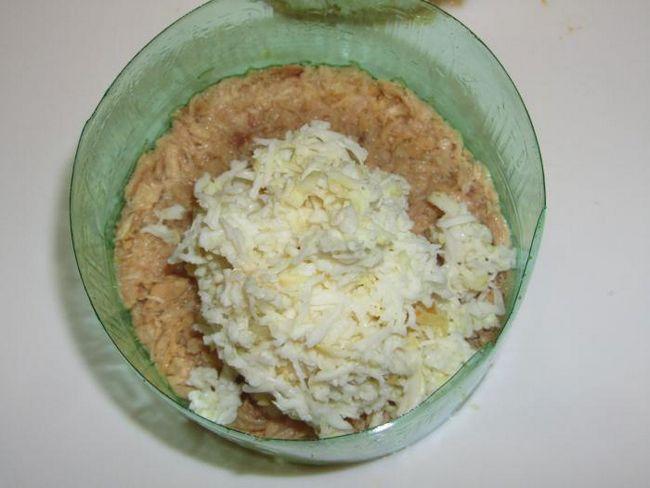 мімоза рецепт з тунцем