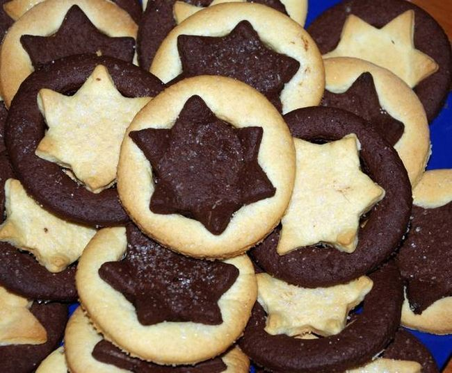 Шоколадне печиво (каблучки і зірочки)