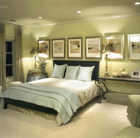 Поєднання кольорів в інтер`єрі спальні: ідеї, фото