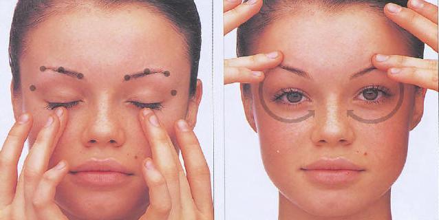 Точковий масаж обличчя - на сторожі краси і здоров`я