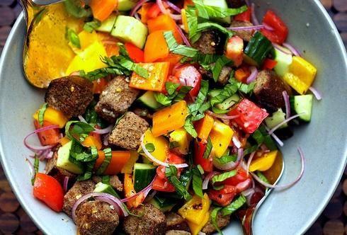 смачний літній салат