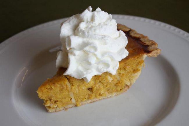 заливний пиріг з яблуками