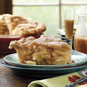 яблучний пиріг заливний