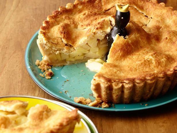 рецепт заливного пирога з яблуками