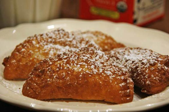 рецепт смажених пиріжків з вишнею