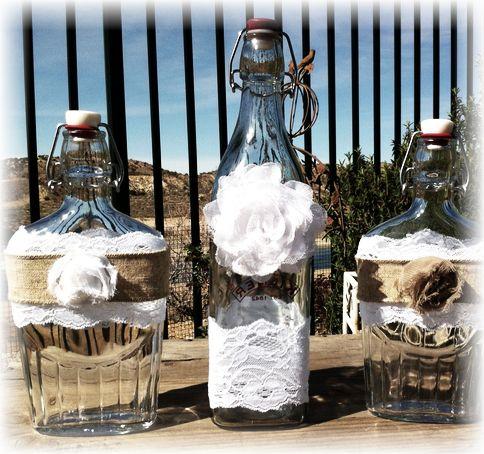 Декор пляшок своїми руками: фото-підбірка з покрокові інструкції для початківців