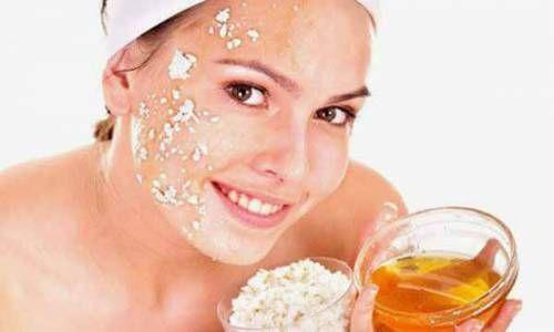 Вівсянка і мед для шкіри обличчя