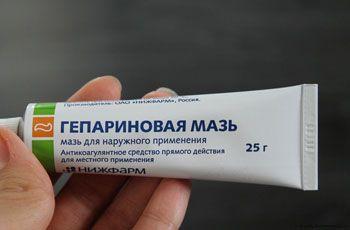 Гепаринова мазь, властивості, застосування, протипоказання, побічні ефекти