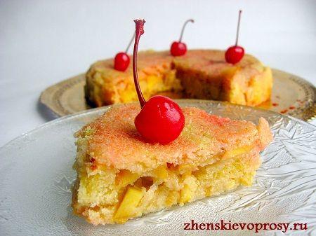 пісочний пиріг з яблуками