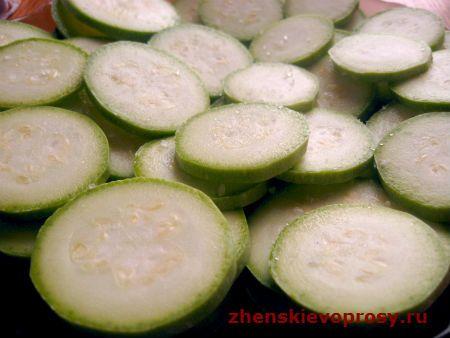 кабачки з сіллю