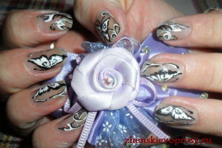 малюнок на нігтях