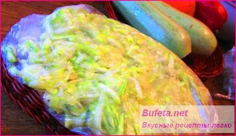 Як заморозити кабачки на зиму - перевірені способи