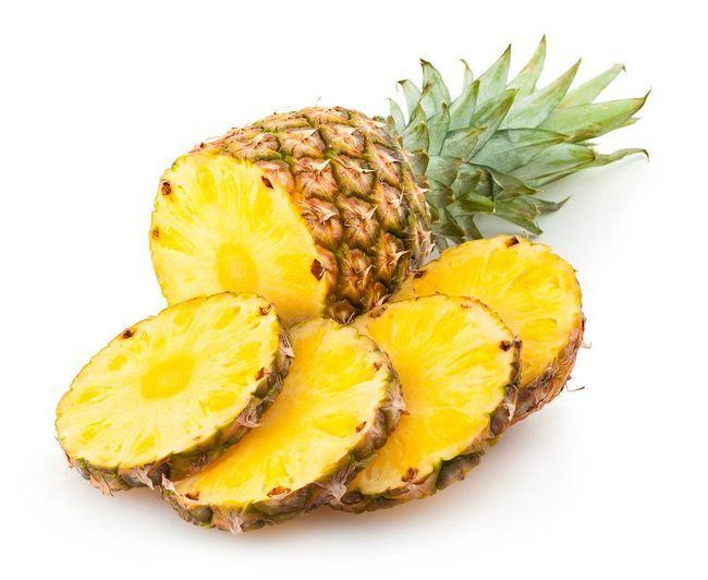 Підбірка доглядають коштів за шкірою обличчя з ананаса