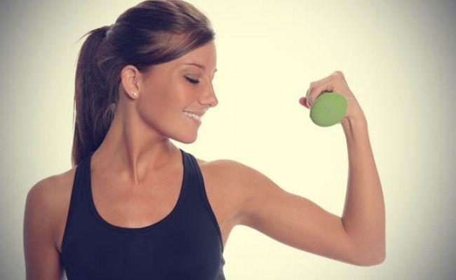 Вправи з гантелями для жінок