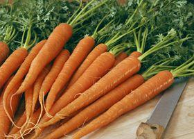 Морква може захистити від раку грудей