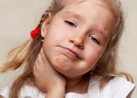 Біль при ковтанні у дітей